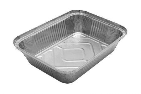 Aluminijumske posude za dostavu hrane sa poklopcem