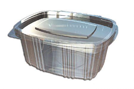 Ambalaža za brzu hranu ovalnog oblika od PET plastike
