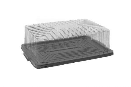 Ambalaža za četvrtaste torte od OPS plastike