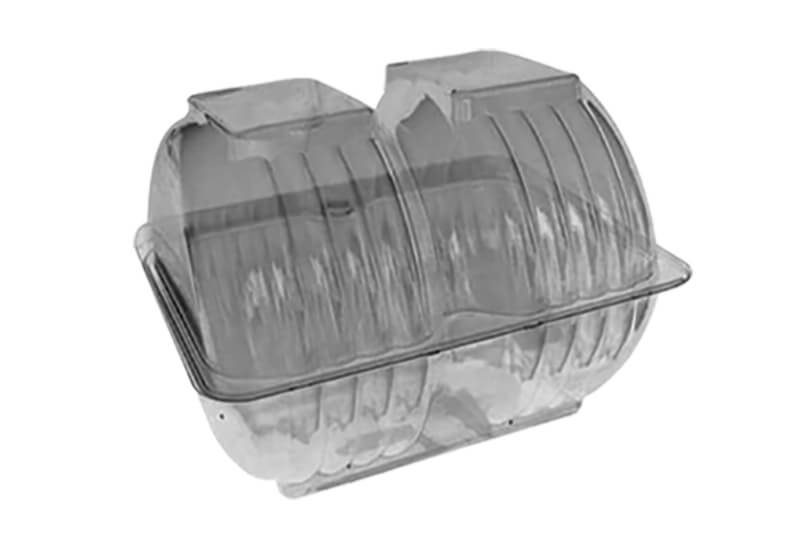 Ambalaža za krofne predviđena za pakovanje 2 krofne