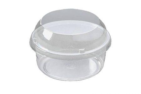 Ambalaža za mafin od plastike sa poklopcem