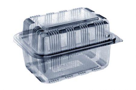 Ambalaža za pakovanje kolača od plastike sa poklopcem
