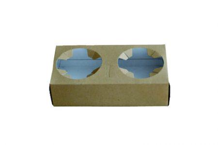 Držači za čaše od kartona- Držač za 2 čaše