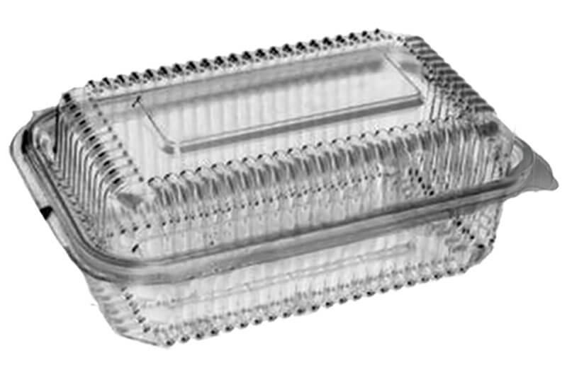 Kutije za hranu za poneti od PET plastike sa poklopcem