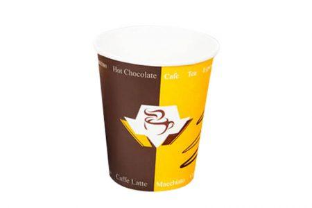 Kartonske čaše sa poklopcem za kafu i tople napitke