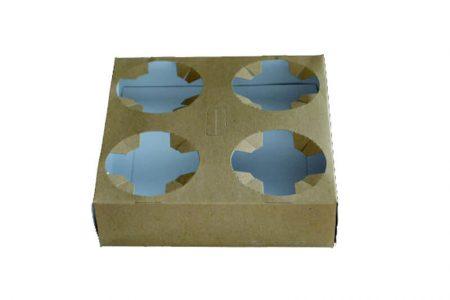 Nržači za čaše od kartona- Nosač za 4 čaše