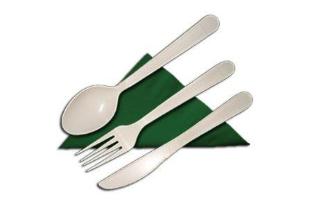Plastični escajg za ručavanje pogodan za hranu iz dostave