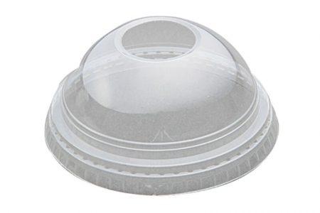 Poklopac za čaše od plastike sa rupom