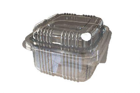 Posude za delikates od PET plastike sa poklopcem