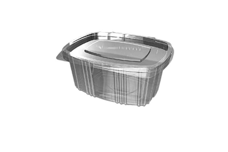 PVC kutije za prakovanje hrane sa poklopcem