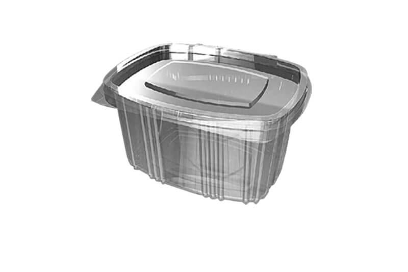 PVC posude za pakovanje hrane ovalnog oblika sa poklopcem