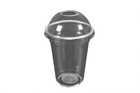 Tvrde plastične čaše sa poklopcem